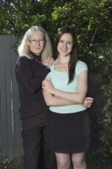 """""""Working together has actually improved our relationship"""": Ally Mosher and her mother Jenny."""