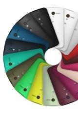 Colour wheel: The Motorola Moto X.