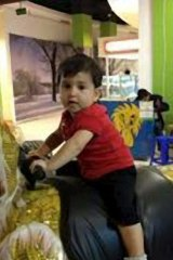 Tragic loss of life: Hussein Khodor's son, Mariam Hussein Khodor.