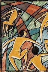 Music, 1927/8, by Dorrit Black, London or Paris.
