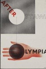 Ashley Havinden  Advertising  and Marketing Exhibition  leaflet 1933