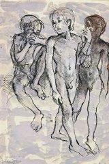 Donald Friend's <i>Nude Studies Bali</i>.