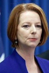 Prime Minister Julia Gillard.