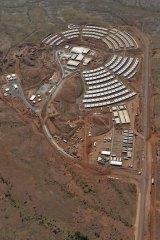 Roy Hill mine site village.