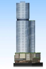 A Moonee Ponds apartment tower rising 34 levels has been proposed by developer Caydon.