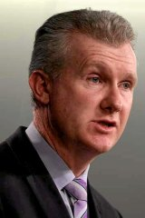 """""""Infinitely better"""": How Tony Burke described the conditions on Manus Island."""