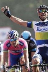 Canberra cyclist Michael Matthews.