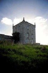 The American-owned Kilcolgan Castle in Kilcolgan, County Galway.