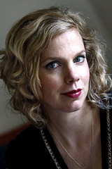 Peggy Frew, winner of  The Age  short story award.