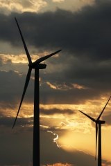 Wind farm costs are also falling fast.