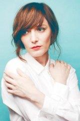 Musician Sarah Blasko.