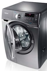 Samsung's Wi-Fi-enabled washer-dryer.