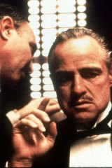 Marlon Brando as Vito Corleone in the influential The Godfather.