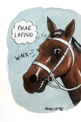 The one and only Winx. Illustration: John Shakespeare