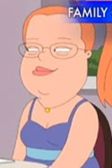 The <I>Family Guy</i> character that caused the complaint.