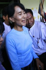 Aung San Suu Kyi will not enter parliament to take the oath to uphold the military-written constitution.