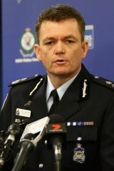 """""""We should not for one minute think this investigation has now reached its conclusion"""": AFP acting Commissioner Andrew Colvin."""