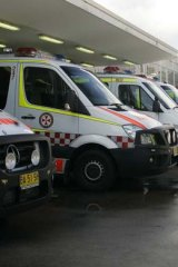 ''It's a very poor state of affairs'' ... NSW faculty chairman of the Australasian College for Emergency Medicine, Richard Paoloni.