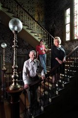 Labassa was home to Jane Clifton and Ian Sproul. Peter Watson (left) is the grandson of former owner John Watson.