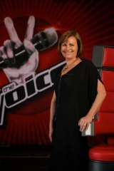 She speaks, they listen: Julie Ward, executive producer of <i>The Voice</i>.