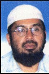 Hambali Riduan Isamuddin in an undated image taken from the Malaysian Police website wanted list.