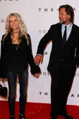Split ... Danielle Spencer and Russell Crowe.
