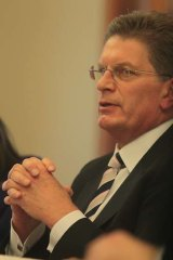 Ted Baillieu says the public should know who the printing supply company are.