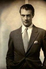 Gary Cooper, 1930, courtesy Condé Nast Archive.