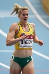 Canberra sprinter Melissa Breen.