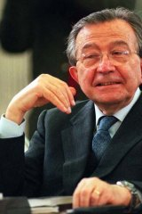 Long-serving: Former Italian prime minister Giulio Andreotti in 1995.
