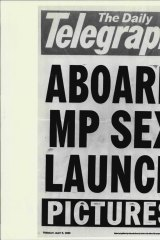 Governments in NSW have a long-established policy of using media such as <i>The Daily Telegraph</I> for 'drops'. Not on this occasion ...
