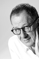 Melbourne Symphony Orchestra devotee Geoffrey Rush.