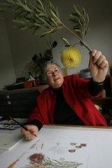 Artist Celia Rosser