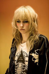 Chart-topper ... Pip Brown, aka Ladyhawke, is riding a wave of success in the wake of her first album.