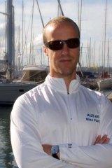 Combining interests: Champion sailor-cum-scientist Federico Lauro.
