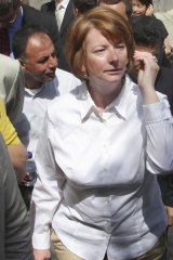 Julia Gillard ...failing to shape up as leader, polling says.