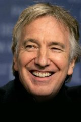 Star-studded event: British actor Alan Rickman will present <i>A Little Chaos</i>, his second film as a director, at Spectrum Now.
