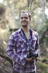 Wouter Van de Voorde, who has been using his medium format camera to capture surreal images of Canberra.