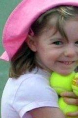 Missing: Madeleine McCann.