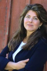 Spine-tingling: author Naomi Wolf and her book, Vagina: A New Biography.