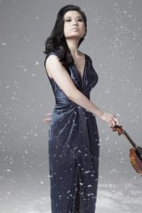 American violinist Sarah Chang.