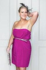 Danielle Polizzi, head stylist at Portmans, Bourke Street.