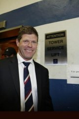 Disgraced Liberal MP: Andrew Cornwell.