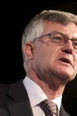 Federal Treasury head Dr Martin Parkinson.