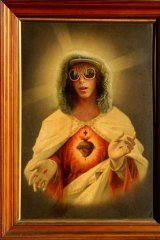 In His image ... <em>Corey Worthington as Jesus Christ</em> (2008) by Dean Sewell.