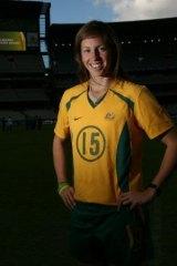 Shipard began her Matildas career at just 16.