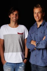 Lex Pedersen and Justin Cameron (left to right), Surfstitch's founders.