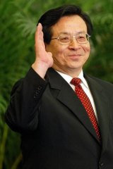 Politburo Standing Committee member Zeng Qinghong.