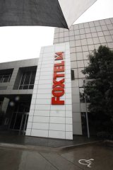 Building: Foxtel earnings.
