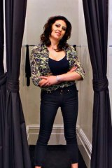 Jean queen: Bettino Liano is now based in New York after closing all her Australian stores.